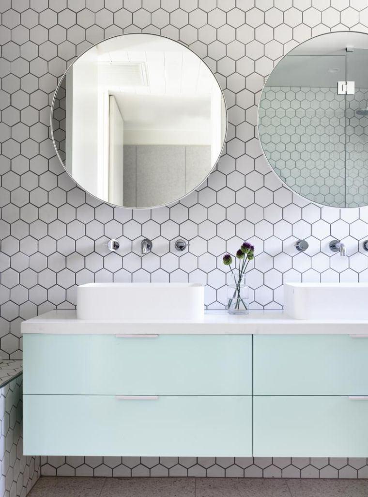 Den Hexagonale Badevaerelse Flise Er Trendy Paintonline Info