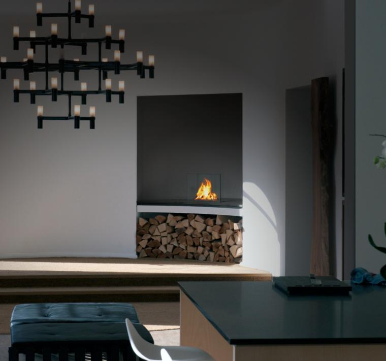 Corner Fireplace Interior Design And, Bio Ethanol Corner Fireplace