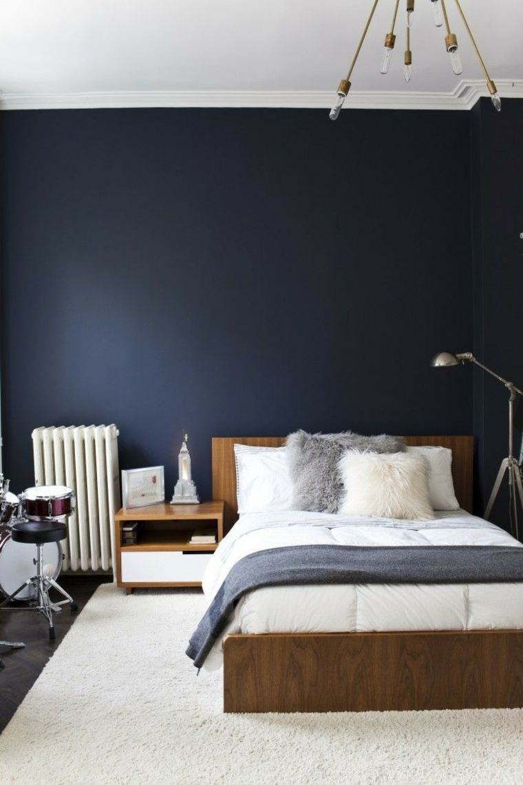 Deco blue room soothing and relaxing in 12 design ideas   A spicy Boy