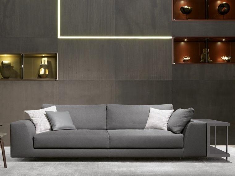 Living Room 85 Ideas With Gray Sofa, Gray Sofa Decor