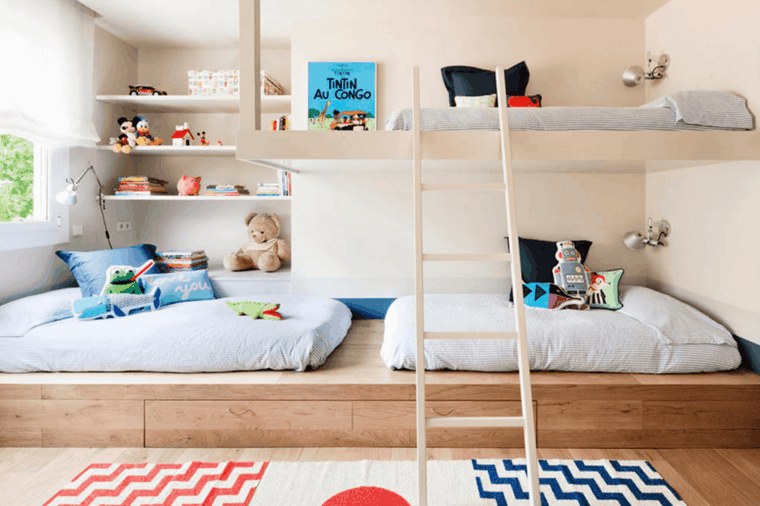 Bedroom Decor Idea The Shared Child Room A Spicy Boy