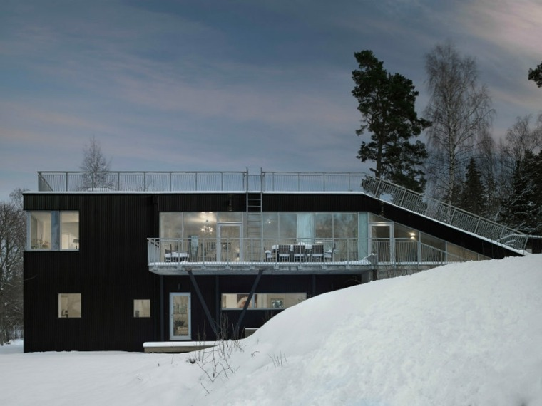 Modern House Flat Roof A Remarkable Collection Paintonline Info