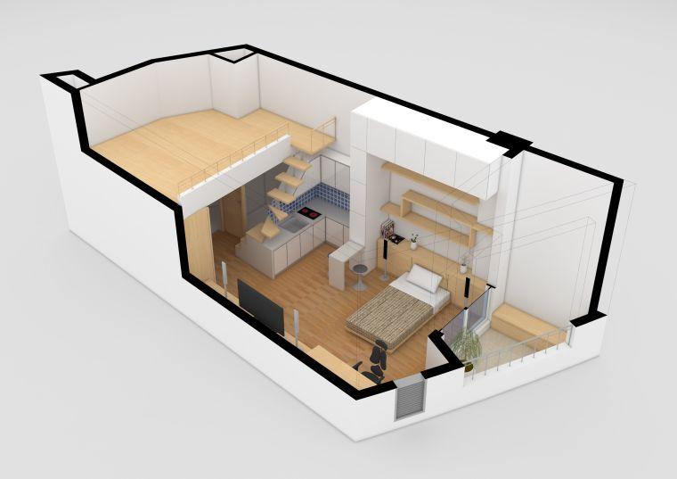 The Apartment Plan Of A Studio 50 Original Ideas Paintonline Info