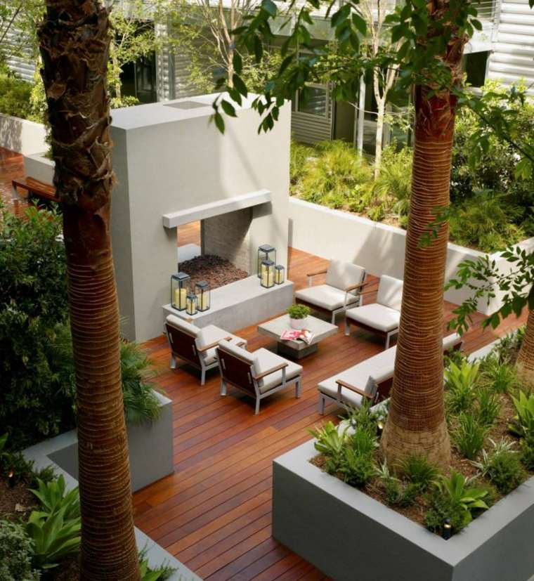 Garden Terrace Decoration In 25 Modern Examples A Spicy Boy