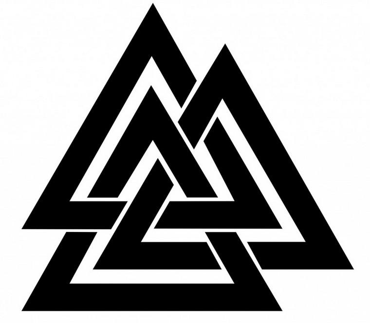 Symbole tattoo mythologie nordische Wikinger Tattoo